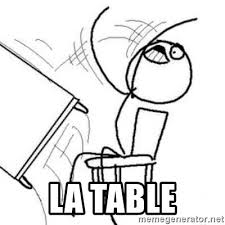 Meme Table Flip - desk flip meme creator mne vse pohuj