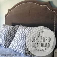 Upholstered Headboards Diy by How To Make A Nailhead Upholstered Headboard Love The Idea Of