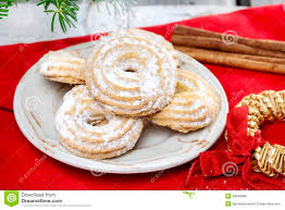 delightful traditional christmas cookies stock photo image 38648988