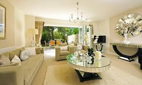 mirror tables for living room exclusive mirrored coffee table with formal beige sofa and large