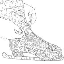 printable coloring pages zentangle printable coloring page zentangle figure skating coloring book by