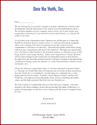 writing a sponsorship proposal letter examples of vouchers credit