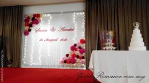 wedding backdrop design malaysia planyourwedding your wedding ideas and inspiration