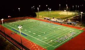Outdoor Sports Lighting Fixtures Fully Shielded Fixtures For Outdoor Recreational Facilities