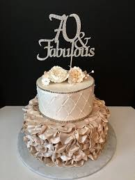 any number gold glitter 70th birthday cake topper 70 and fabulous