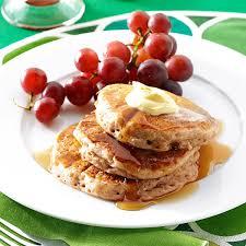 halloween pancakes cinnamon applesauce pancakes recipe taste of home
