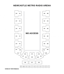 O2 Arena Floor Seating Plan by Newcastle Metro Radio Arena Seat Plan For Disney On Ice Presents