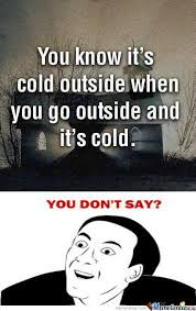 Cold Outside Meme - rmx you know it s cold outside by recyclebin meme center