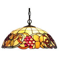 serena d u0027italia tiffany 2 light sunflower bronze hanging lamp