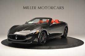 2016 black maserati quattroporte 2016 maserati granturismo convertible mc stock m1458 for sale