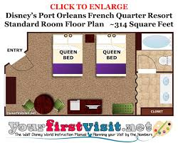New Orleans Floor Plans by Review Disney U0027s Port Orleans French Quarter Resort