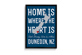 Home Is Where The Heart Is Home Is Where The Heart Is A Kiwi Print Be My Guest