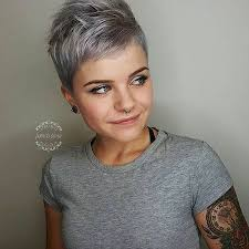 pixie grey hair styles best 25 grey pixie hair ideas on pinterest short gray hair