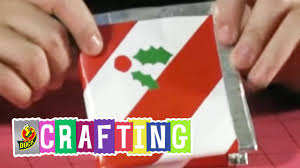 how to craft a duct tape christmas wallet youtube