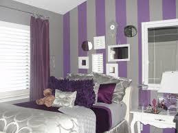 Dark Purple Walls Floating Bed In White Wood Bed Frame Dark Purple Bedrooms