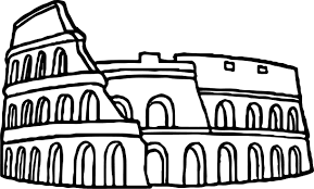 rome icon coloring page wecoloringpage
