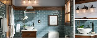 lowes bathroom designs this is the cromlee collection from lowe s the blue tile on all