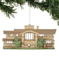 frank lloyd wright house ornaments set of 4 maclin studio