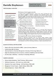 Australia Resume Template Australian Resume Format Sample How To Write A Resume Professional