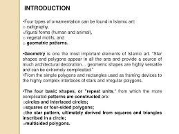 ppt geometry of islamic architecture powerpoint presentation