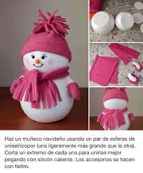 muñeco navideño navidad pinterest craft snowman and navidad