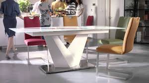 round extending dining room table and chairs furniture village tv caign habufa panama dining table youtube