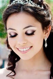 make up hochzeit cantiknya portraits of lights wedding