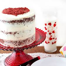traditional red velvet cake with ermine frosting old