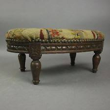 Shabby Chic Footstool by Antique Footstools Ebay