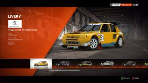 peugeot 205 t16 peugeot 205 t16 rallycross colin mcrae rally and dirt wiki