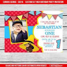 george 1st birthday invitations