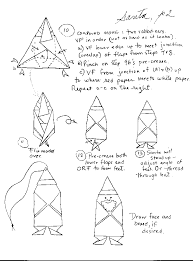 How To Make A Origami Santa - origami santa claus