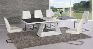 Dining Tables And 6 Chairs 20 Photos Black Glass Dining Tables 6 Chairs Dining Room Ideas