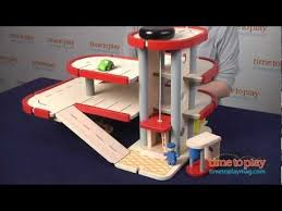 parking garage from plan toys youtube