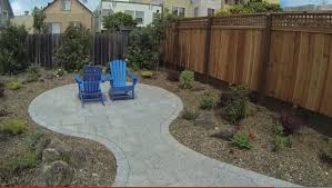 daly city small front and back yard renovation project by