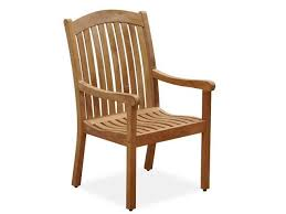eastchester teak high back dining chair fortunoff backyard store