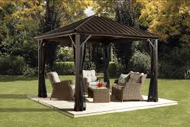 Patio Gazebo 10 X 10 by Sojag Dakota Gazebo Walmart Canada