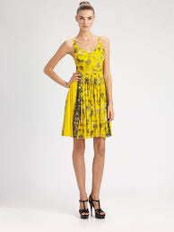 jellyfish dress jean paul gaultier tulle jellyfish dress in yellow lyst
