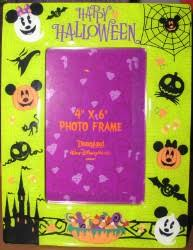 your wdw store disney picture frame 4 x 6 mickey halloween