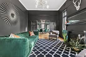 gray with a sparkle of emerald green serene st kilda extension