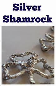 aluminium foil silver shamrock with video tutorial sparklingbuds