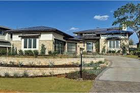 prairie home plans hill country neo prairie style home hwbdo75737 prairie style