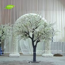 gnw bls1603004 best selling white silk artificial cherry blossom