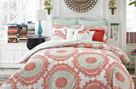 bedding set coral colored comforter and bedding sets beautiful