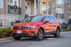 volkswagen tiguan 2016 red review 2018 volkswagen tiguan highline canadian auto review