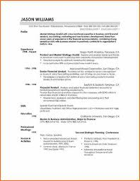 Sample Resume For Financial Analyst Entry Level by 11 Good Resume Templates Budget Template Letter