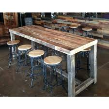 Reclaimed Wood Bar Stool Bar Stool Reclaimed Wood Bar Restaurant Counter Community Rustic