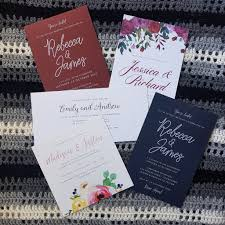 wedding invitations on a budget print at home professional wedding invitations on a budget