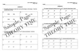 theory time reproducible series middle high 1a