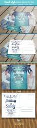 Post Card Invites Beach Style Wedding Invitation Post Card By Arcford Graphicriver